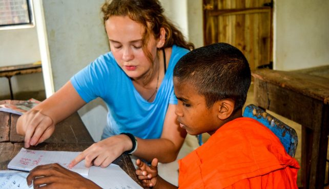 Viaje a Sri Lanka. Voluntariado