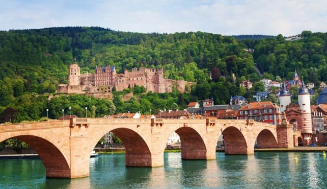Viaje a Alemania - Heidelberg. Crucero Rin fin de año