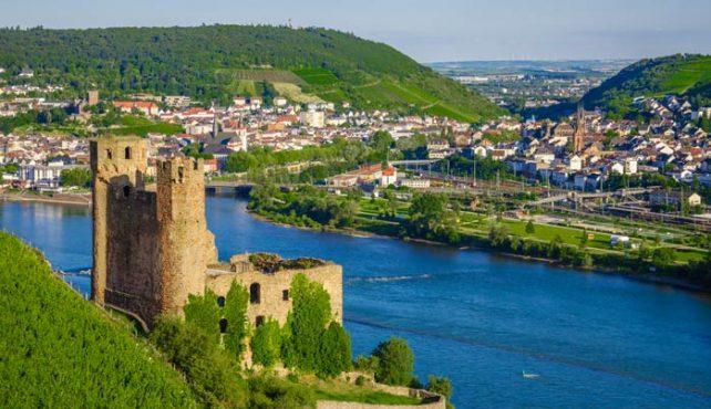 Viaje a Alemania - Rüdesheim. Crucero Rin fin de año