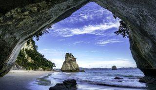 Cathedral Cove Coromandel Nueva Zelanda