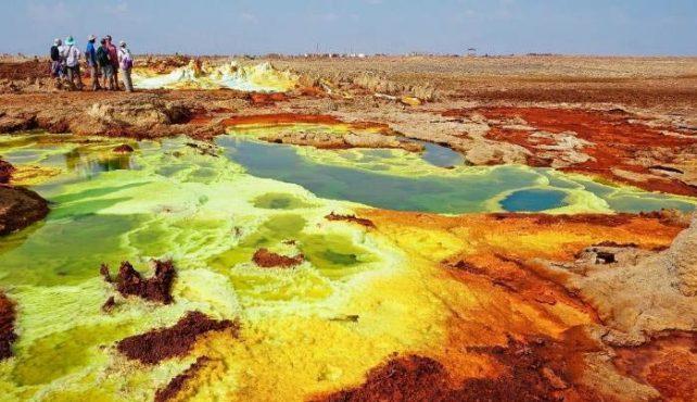 Prospección: Expedición Geológica Desierto de Danakil en Etiopía