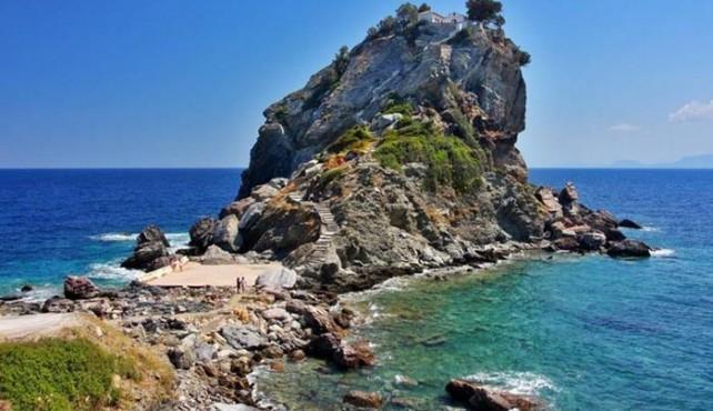 Viaje a Grecia. En familia. Skiathos y Skopelos