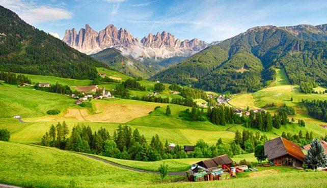 Viaje a Italia. Dolomitas y Tirol italiano