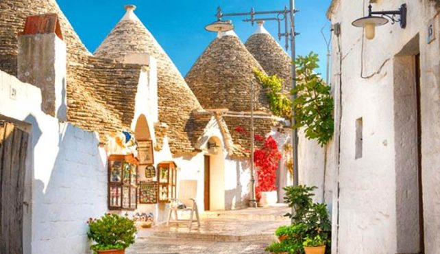 Viaje a Italia. En Grupo. Apulia