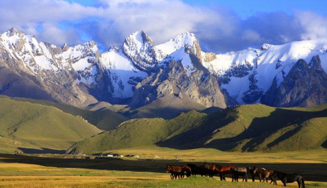 Viaje a Kirguistán. Contrastes