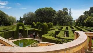 Salida Parque del laberinto de Horta