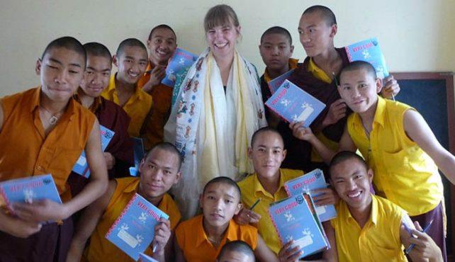 Viaje a Nepal. Voluntariado. Monasterios