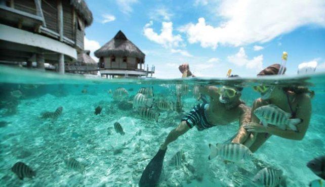 Viaje a Polinesia a media