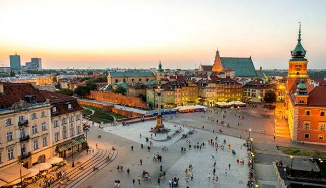 Viaje a Polonia - Varsovia. P