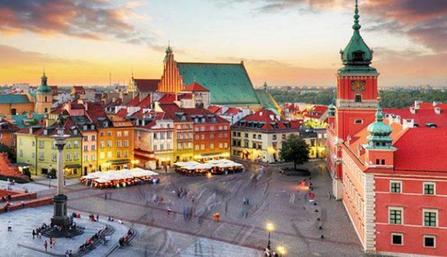 Viaje a Polonia - Varsovia. Navidad