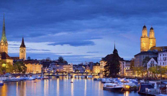 Viaje a Suiza. En familia