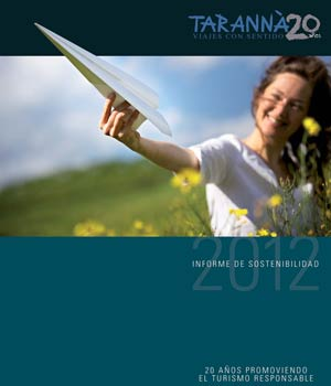 Informe de sostenibilidad Tarannà 2012