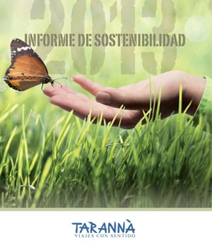 Informe de sostenibilidad Tarannà 2013