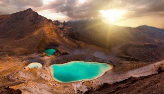 El Parque Nacional de Tongariro Nueva Zelanda