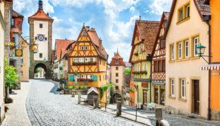 Viaje a Alemania. En grupo.