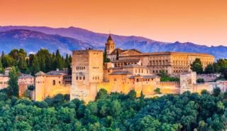 Viaje a Andalucía. En grupo. Ruta Washington Irving
