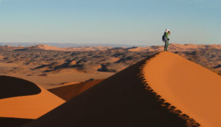 Viaje a Argelia. En grupo. Tassili Tadrart y Erg D´Admer con Miquel Petit