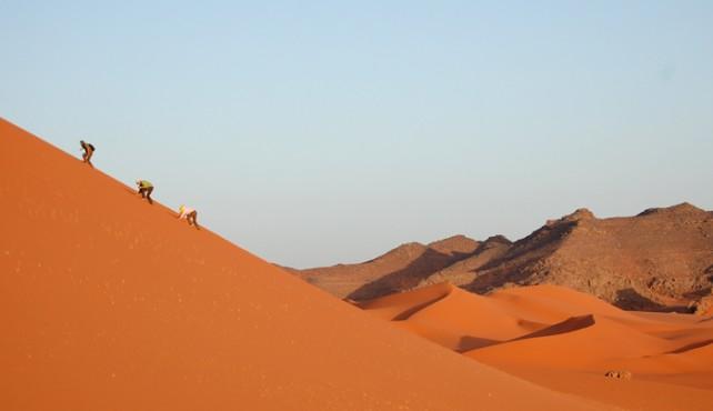 Viaje a Argelia. Semana Santa. Tassili Tadrart y Erg D'Admer