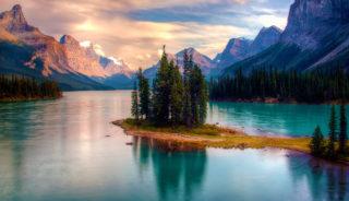 Canadá - Maligne Lake