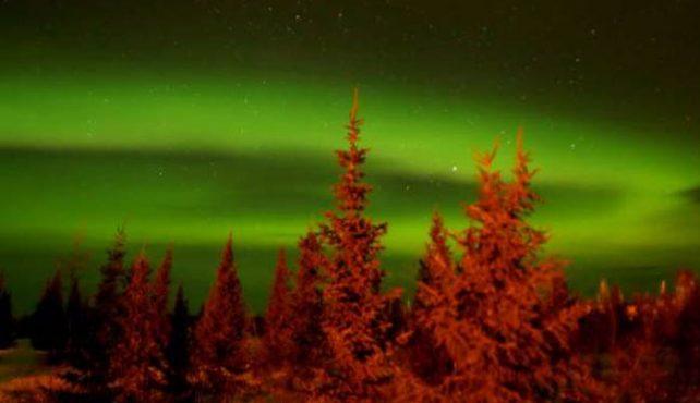Viaje a Canadá. Auroras Boreales en Kuujjuak