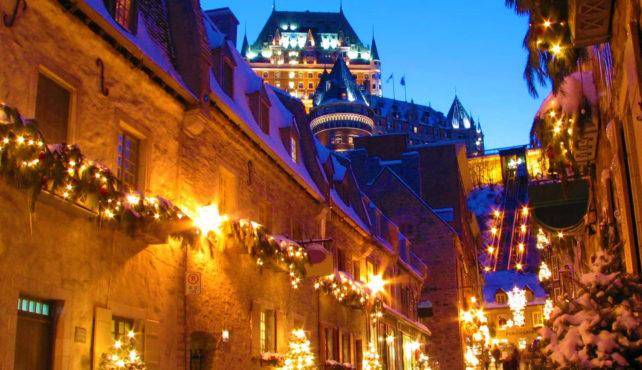 Viaje a Canadá. Navidad. Fin de año en el este de Canadá