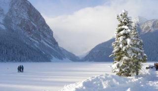 Viaje a Canadá. Navidad. Año nuevo en los Castillos de las Rocosas
