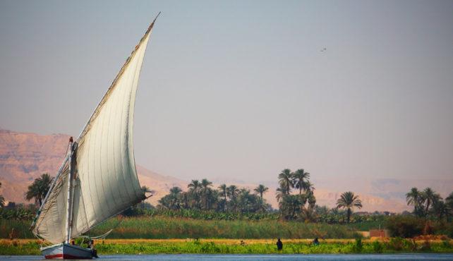 Viaje a Egipto. Aventura en el Nilo