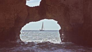 Viaje a España y Portugal. En familia. Islas del Algarve Portugués en velero