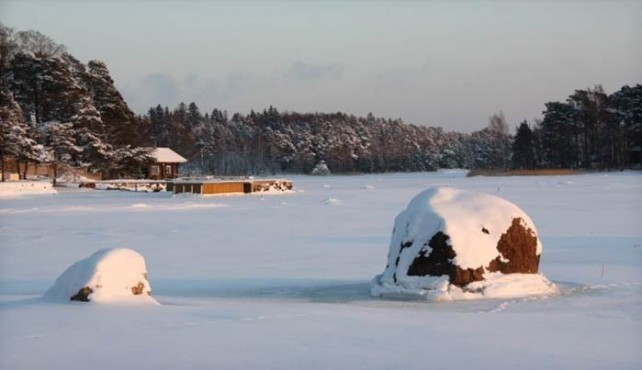 Viaje a Finlandia. En Familia. Puerta Laponia