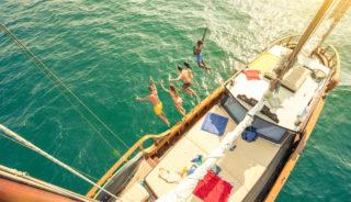 Viaje a Grecia. En grupo. Islas del Sarónico en velero