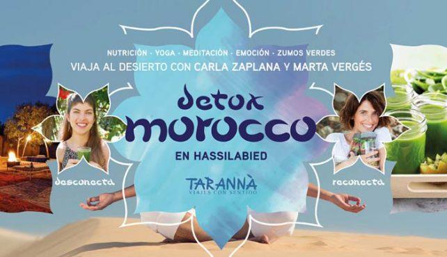 Viaje a Marruecos Detox en el desierto con Carla Zaplana y Marta Vergés