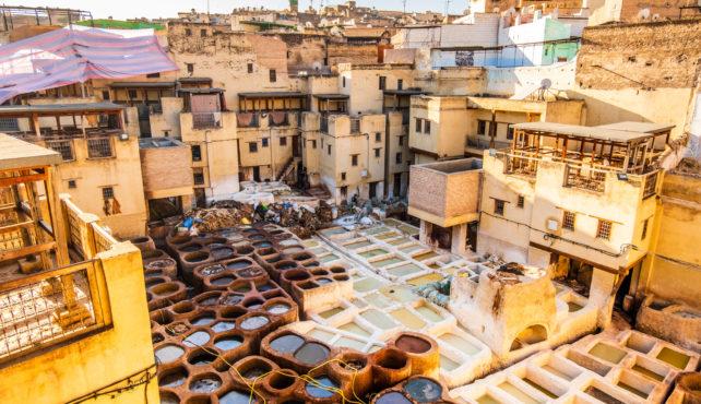 Viajar a Marruecos. Medida