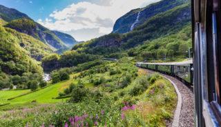 Viaje a Noruega. Grupo verano. Fiordos en tren y barco