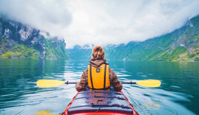 Viaje a Noruega. A medida. Tren y barco