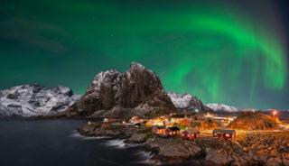 Viaje a Noruega. En grupo. Fiordos y auroras boreales