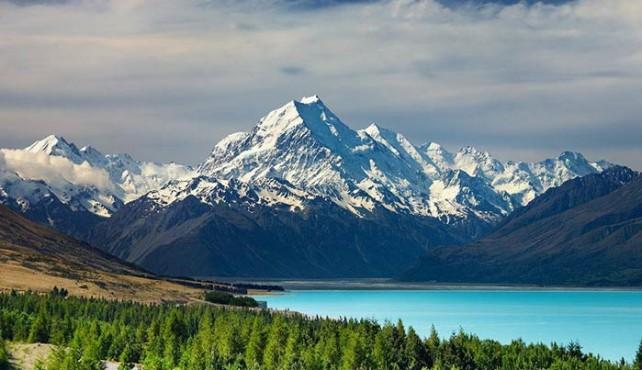 Viaje a Nueva Zelanda. A medida. Pinceladas