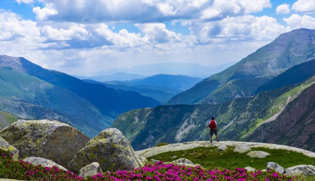 Viaje al Pirineo catalán y aragonés. En grupo. Los Valles pirenaicos, Aigüestortes a Ordesa