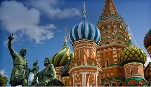 Viaje a Rusia. Navidad. Singles