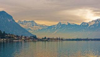 Viaje a Suiza. Navidad. Visita a la casa de Papá Noel en Montreux