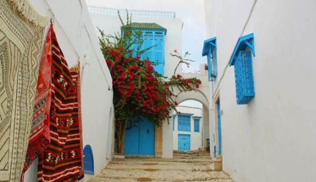 Viaje a Túnez. En Grupo