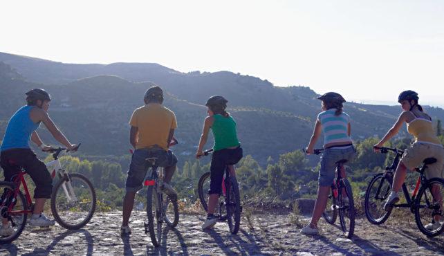 Viaje en bicicleta a España. Autoguiado. La vía verde del aceite en Andalucía