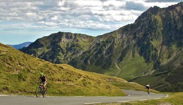 Viaje en bicicleta Pirineo