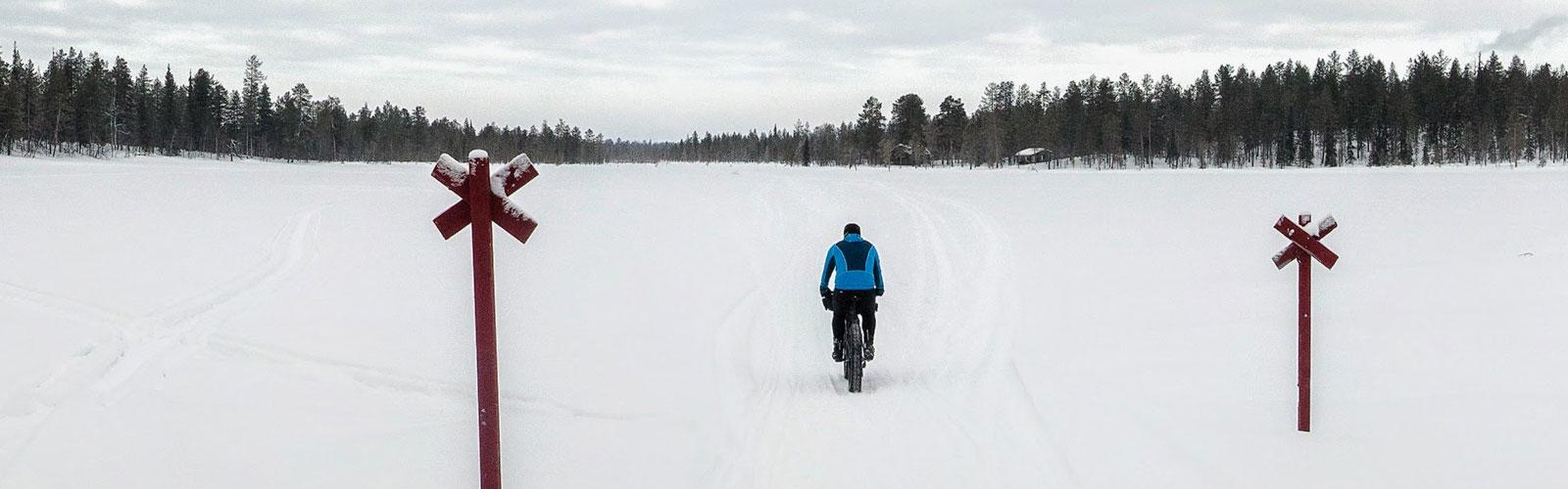 Viaje en Bicicleta por Laponia. 25 Marzo