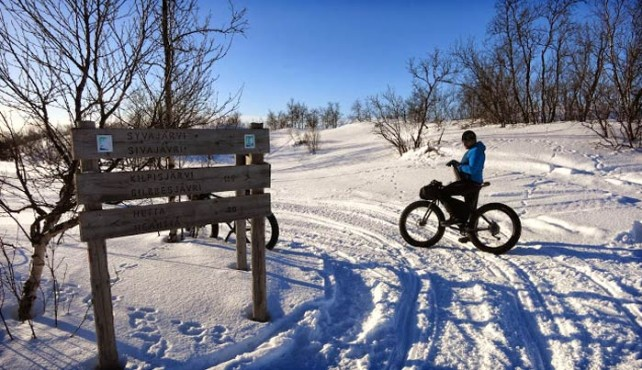 Viaje en bicicleta a Laponia
