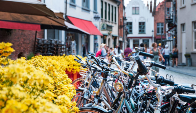 Viaje en bicicleta a Bélgica. Autoguiado. Ciclismo por la Costa del Mar del Norte